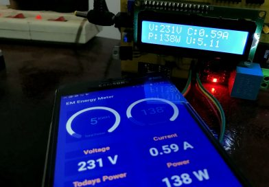 IOT Base AC Electricity Energy Meter