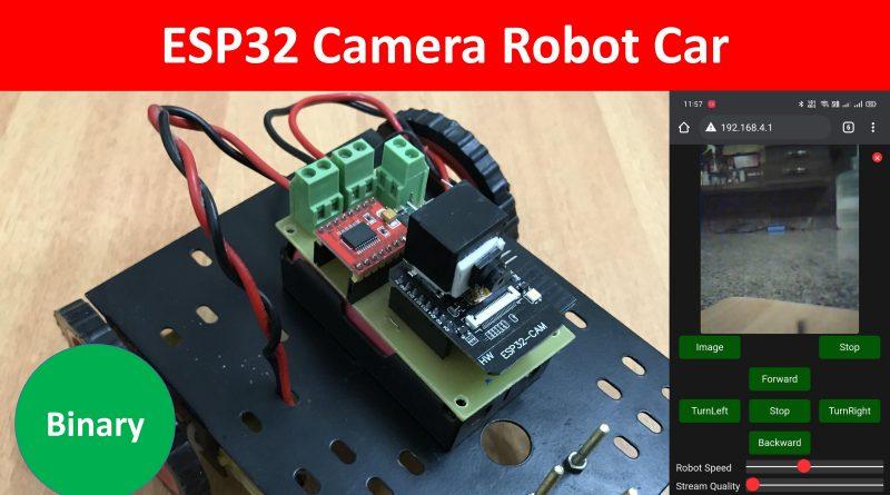 ESP32 CAM Robot